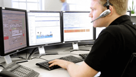 Supporter managing server for web hosting