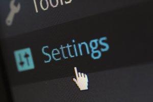 WordPress indstillinger
